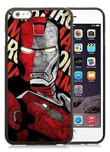 Fashion And Unique iPhone 6 Plus 5.5 Inch TPU Case Designed With Iron man 19 Black iPhone 6 Plus