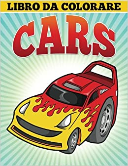 Libro Da Colorare Cars