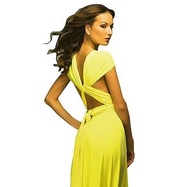Abendkleider Damen, DoraMe Mode Frauen Cabriolet Multi Way Wrap ...