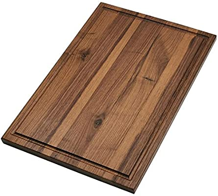 Cutting Board Wood Cutting Boards For Kitchen Large Chopping Board 16x12 American Walnut Hardwood Carving Countertop Block With Juice Groove For