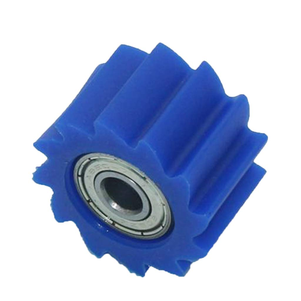 Azul Homyl Tensor de Rodillo de Cadena 8mm Parte Reempalzable para Kawasaki KX250F KX450F