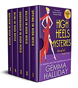 040853e89457 High Heels Mysteries Boxed Set (Books 1-5) - Kindle edition by Gemma ...