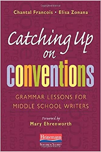 Amazon.com: Catching Up on Conventions: Grammar Lessons for Middle ...
