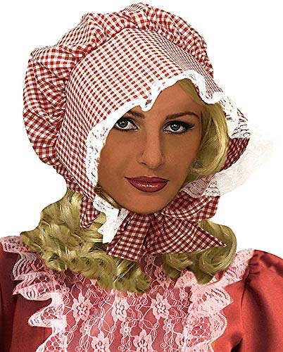 Forum Novelties Red Checkered Prairie Hat ()