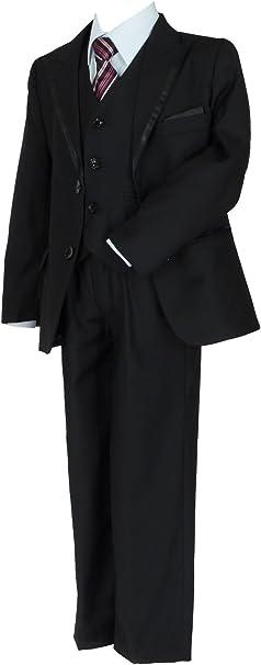 Samtlebe® Jungen Anzug Kinderanzug Kommunionanzug