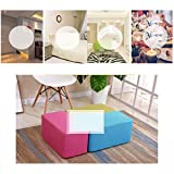 Pink Solid Wood Sofa Bench Change Shoe Bench Bedroom Cloth Bed End Stool Osman Fashion Makeup Stool Stool Creative Stool