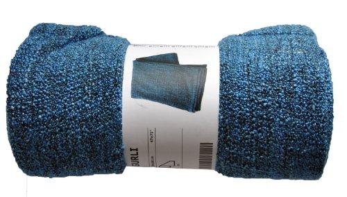 Ikea GURLI Throw Blanket Soft Blanket Blue 40cm X 40cm Couch Throw Custom Ikea Fleece Throw Blanket