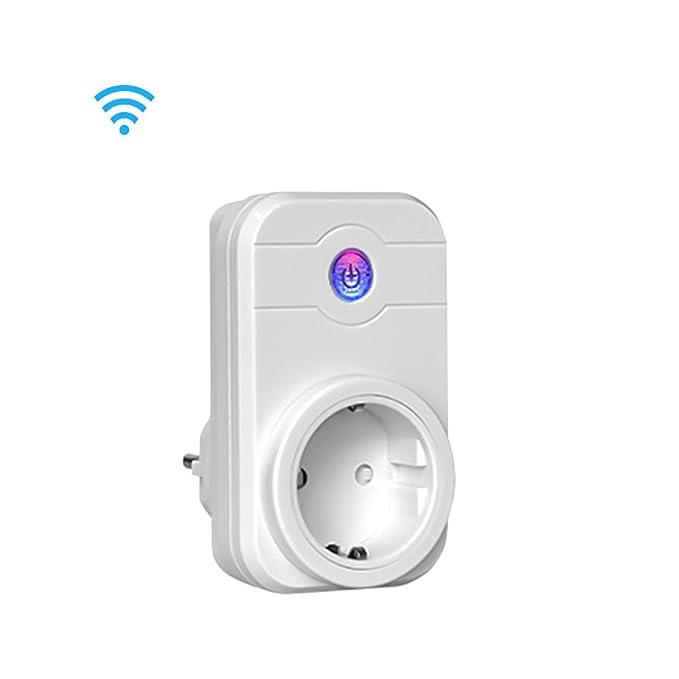 7 opinioni per Presa Intelligent Schuko Timer Wifi con Controllo Remoto Elettrico per Alexa,