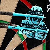 CUESOUL 2 Sets ROST Integrated Dart Shaft and Flights
