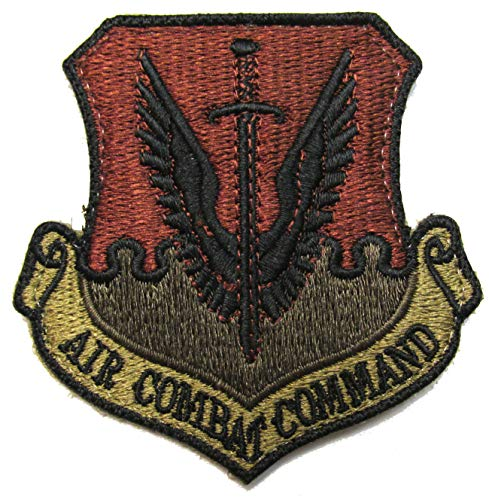 U.S. Air Force Air Combat Command OCP Patch - Spice Brown ()