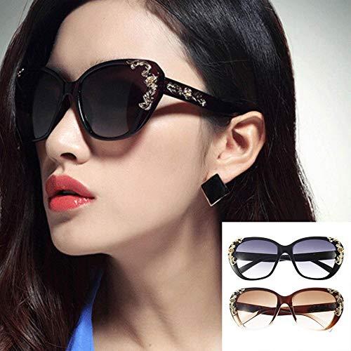 Women Cat Eye Vintage Sunglasses Tmall Luxury (Slim Cat Eye Sonnenbrille)