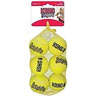 KONG Squeak Air Balls Dog Toy (6 Pack), Medium