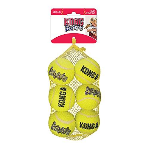 Ball Medium Dog Toy (KONG Squeak Air Balls Dog Toy (6 Pack), Medium)