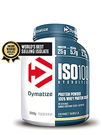 Dymatize Nutrition Iso 100 227kg Whey Protein Isolate Zero Carb And Birthday Cake Amazoncouk Grocery