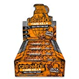 Grenade Carb Killa High Protein and Low Carb Bar, Jaffa Quake, 12 x 60 g