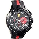 Automotive : Ferrari Men's 0830023 Race Day Analog Display Quartz Black Watch