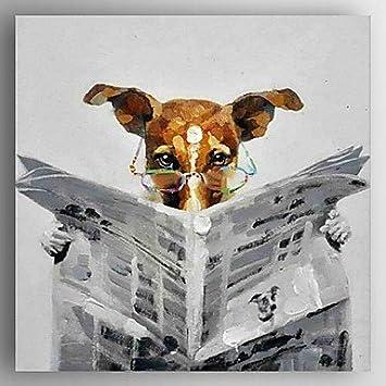 Peinture Peinture A L Huile A La Main Moderne Abstrait Lit Journal