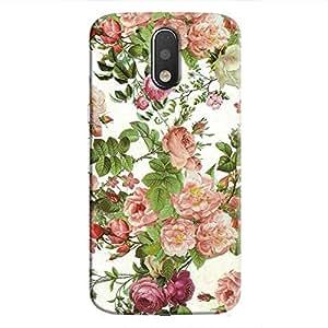 Cover It Up Flower Garden Hard Case For Moto G4 Plus - Multi Color