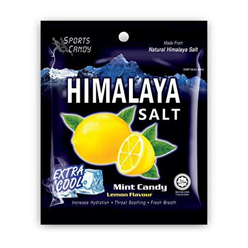 Salt And Lemon Candy - Made from Natural Himalaya Salt - Halal Candy Lemon Flavor (Pack of 12)]()