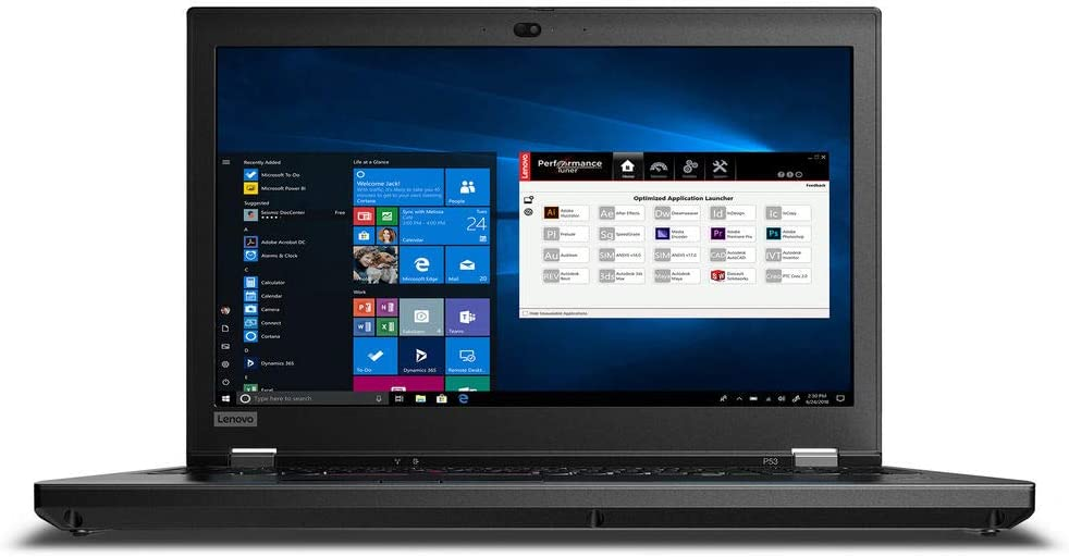 "Lenovo ThinkPad P53 Mobile Workstation - 15.6"" HDR 400 FHD - 2.8 GHz Intel Xeon E-2276M Six-Core - NV Quadro RTX 5000 Max-Q (16GB) - 32GB DDR4 - 512GB SSD - Win10 Pro"