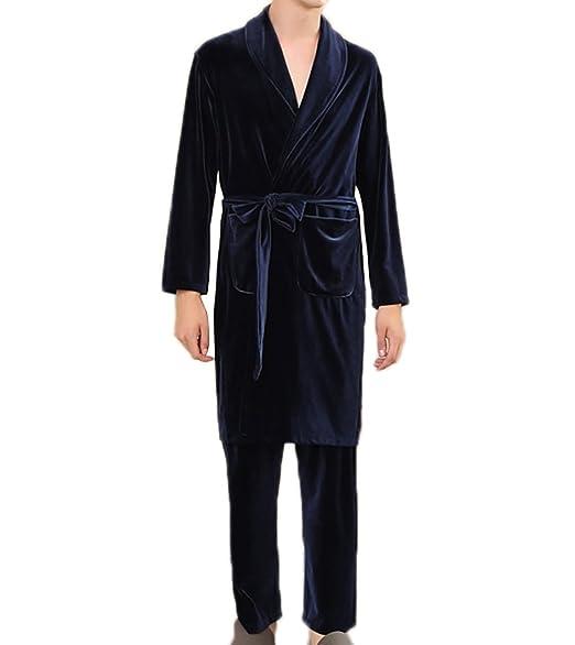 Pièces Chambre Velours En Robe Deux De Et Doux Pantalon Vêtement PkXiOZu