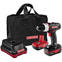 Deals on Craftsman 19.2 Volt Drill Driver with 2 Lithium-Ion Batteries 5275.1