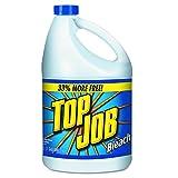 Top Job 11007735044 Regular Bleach, 1 gal Bottle (Case of 6)