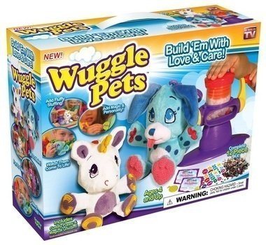 Wuggle Pets complete 12 piece kit cuddly puppy & magical unicorn