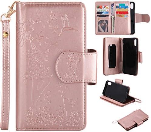 iPhone 7 PlusウォレットケースSevenPanda iPhone 8 Plus保護カバーレザーケース携帯電話ケースP