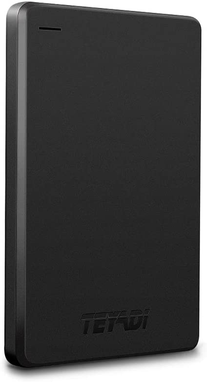 """2.5"""" 1TB Ultra Slim Portable External Hard Drive 9mm USB3.0 HDD Storage Compatible for PC, Desktop, Laptop, Xbox One, PS4"""