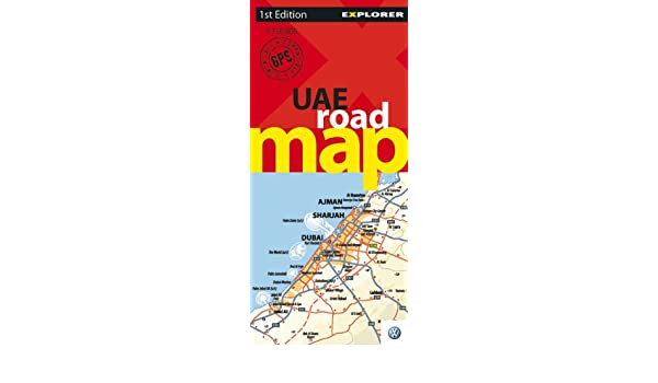 UAE Road Map: Explorer Publishing: 9789768182579: Amazon.com: Books