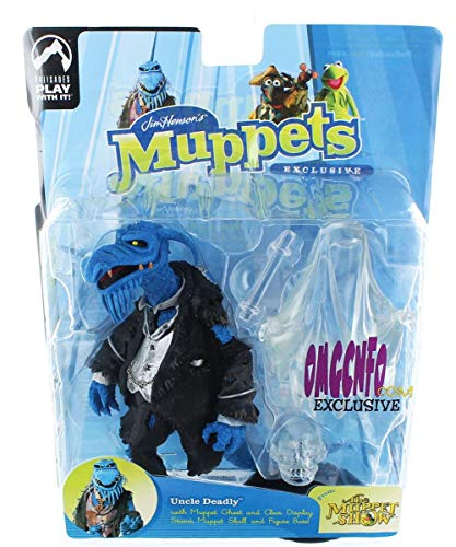 Muppet Show Uncle Deadly (Glow-In-The-Dark) Action Figure -