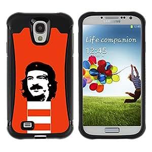 """Pulsar iFace Series Tpu silicona Carcasa Funda Case para Samsung Galaxy S4 IV I9500 , Che Guevara Revolución Retrato comunismo"""""""