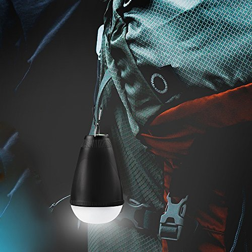 Sbode Camping Lantern, LED Remote Control Rechargeble Water Resistant Outdoor Indoor Portable Tent Light Bulb for Camping, Hiking, Fishing, Garden, Emergencies Photo #5