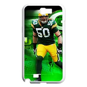 Green Bay Packers Samsung Galaxy N2 7100 Cell Phone Case White DIY gift zhm004_8685841