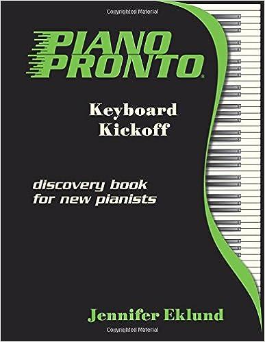 Book Piano Pronto®: Keyboard Kickoff