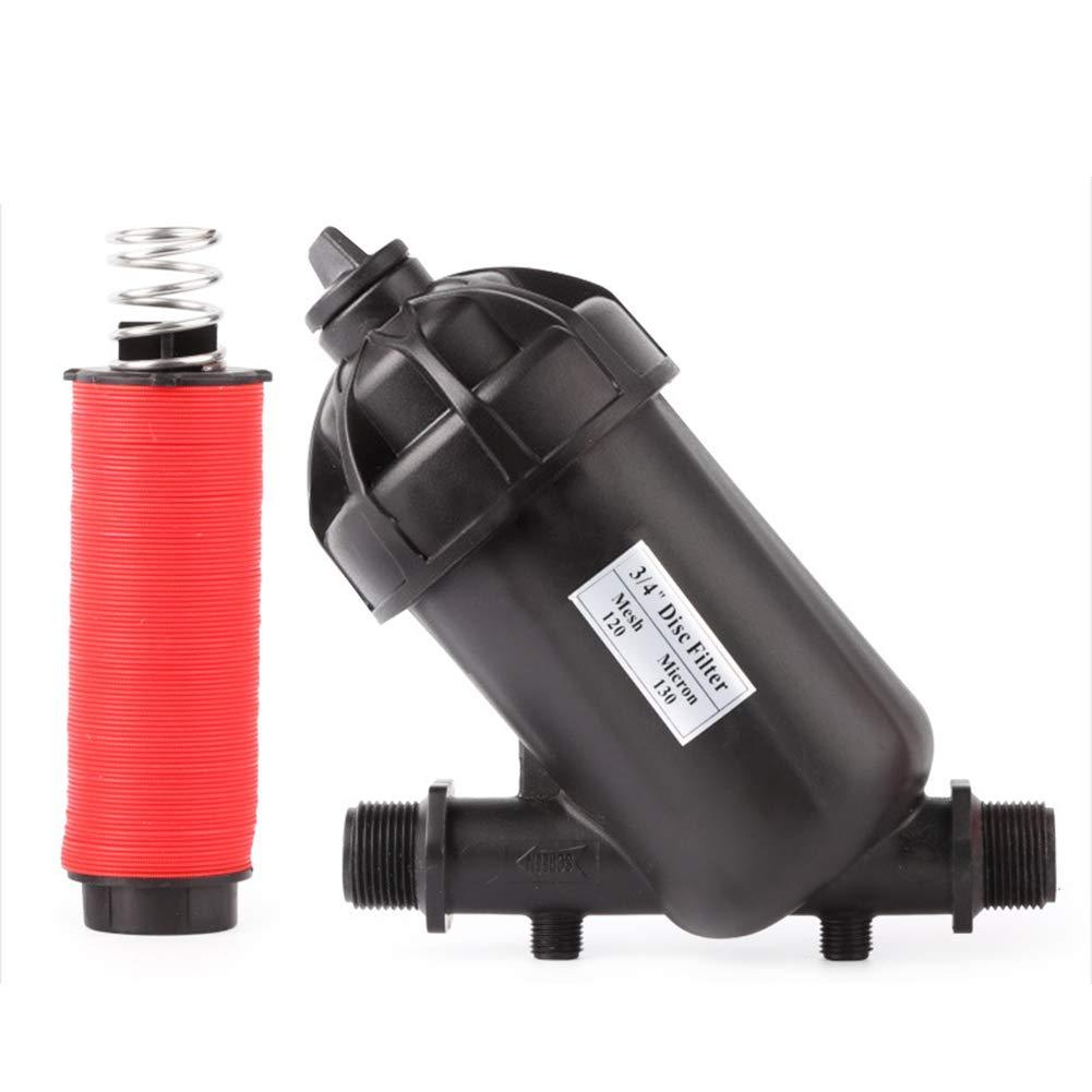 v4edfwf 6/25 Strap Type Garden Sprayer Watering Filter 3/4 Filter Outdoor Gardening Tool
