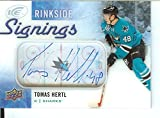 Hockey NHL 2015-16 Ice Rinkside Signings #RS-TH Tomas Hertl Auto Sharks