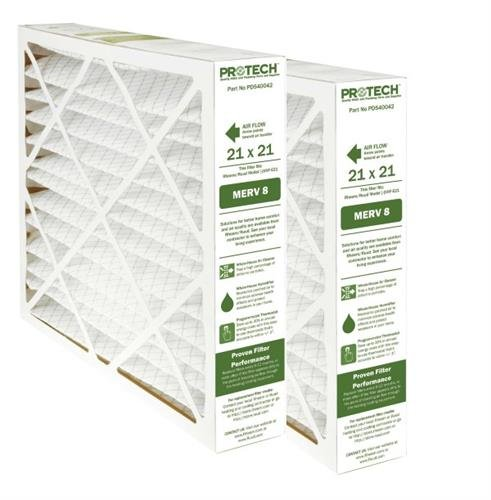 (2) Pack, 21 x 21 x 5, Replacement Filter for Rheem/Ruud RXHF-E21AM10