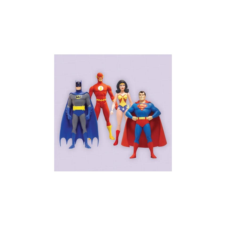 Reactivated Super Friends Series 3 Action Figures by DC Direct