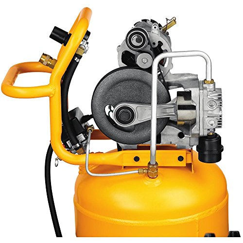 amazon com dewalt d55168 200 psi 15 gallon 120 volt electric amazon com dewalt d55168 200 psi 15 gallon 120 volt electric wheeled portable workshop compressor home improvement