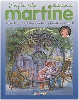 Buy Martine Livres Cd Un Univers Familier Livre Cd Book