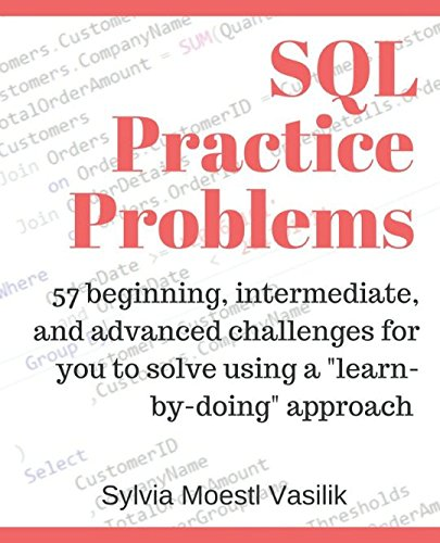 SQL Practice Problems learn doing product image
