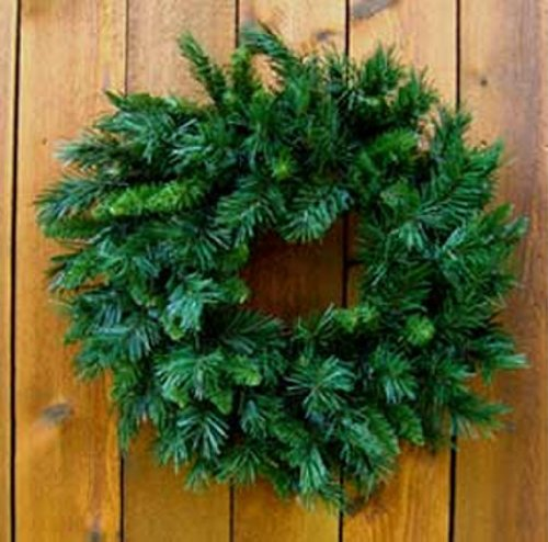 24 inch Princess Pine Mixed Needle Artificial Wreaths [123146]
