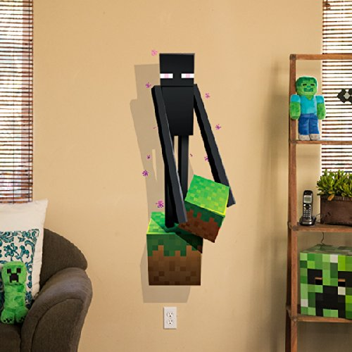 Amazon.com Minecraft Vinyl Decal Wall Cling Mining 2-Pack + Creatures 4-Pack Graphic Bundle Home u0026 Kitchen & Amazon.com: Minecraft Vinyl Decal Wall Cling Mining 2-Pack + ...