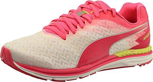 Puma Speed 300 Ignite Women's Running Shoes White/Pink Glow/Silver lRzr6