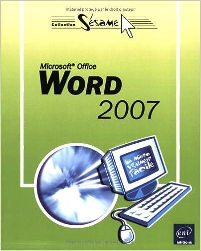 Livres Word 2007 pdf, epub