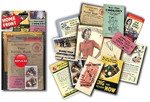 Resources For Teaching Home Front -world War 2 - Memorabilia Pack (resources For Teaching - World War 2 - Memorabilia Packs) ()