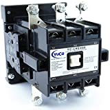 YuCo YC-LHEH80-2 100AMP 100AMP DEFINITE PURPOSE LIGHTING & HEATING MAGNETIC CONTACTOR WITH LINE LOAD LUGS 2NO 2NC AUXILIARY CONTACTS 120V AC COIL