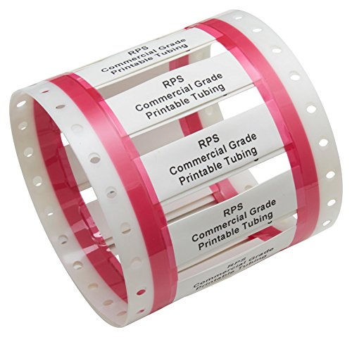 RPS-6-250/2.0-9 - Wire Marker, Thin Wall, Heat Shrinkable Sleeve, PO (Polyolefin), White, 19.05mm x 48.26mm (RPS-6-250/2.0-9)